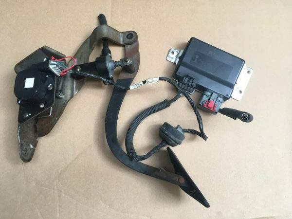 педаль и модуль управления положением педалей