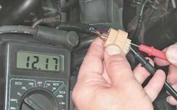 измерение напряжения на проводке рхх
