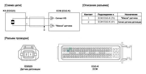 схема подключения дд резистивного типа